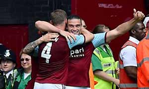West Ham United 2-0 Tottenham Hotspur