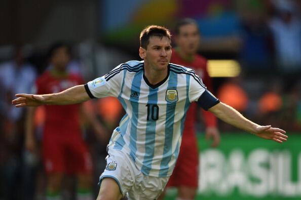 Argentina 1-0 Iran
