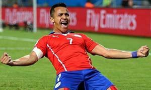 Chile 3-1 Australia