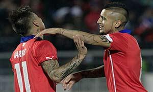 Chile 2-0 Northern Ireland