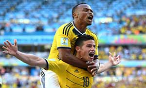Colombia 3-0 Greece