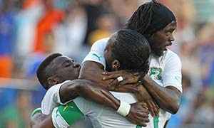 El Salvador 1-2 Ivory Coast