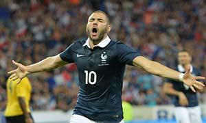France 8-0 Jamaica