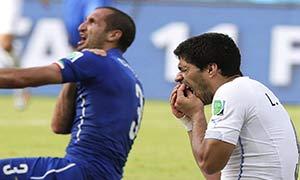 Italy 0-1 Uruguay