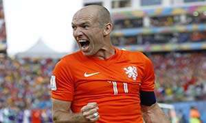 Netherlands 2-0 Chile