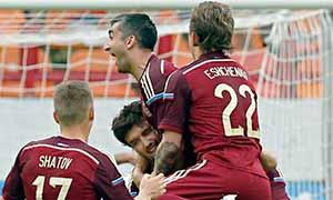 Russia 2-0 Morocco