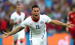 Spain 0-2 Chile