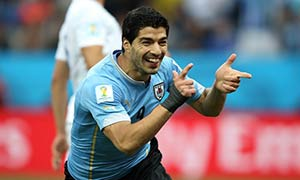 Uruguay 2-1 England