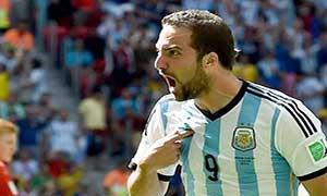 Argentina 1-0 Belgium
