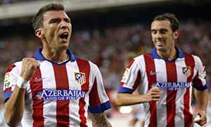 Atletico Madrid 2-1 Eibar