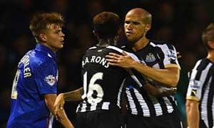 Gillingham 0-1 Newcastle United