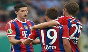 Preussen Munster 1-4 Bayern Munich