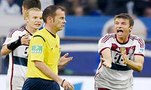 Schalke 1-1 Bayern Munich
