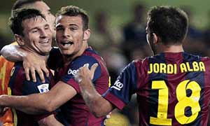 Villarreal 0-1 Barcelona