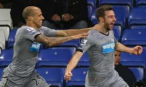 Crystal Palace 2-3 Newcastle United