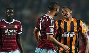 Hull City 2-2 West Ham United