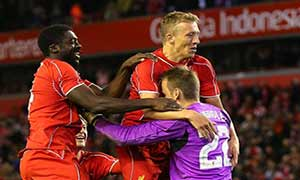 Liverpool 2-2 (Pen 14-13) Middlesbrough