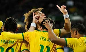 Austria 1-2 Brazil