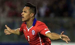 Chile 1-2 Uruguay