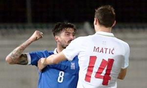 Greece 0-2 Serbia