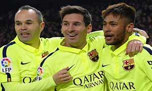 Atletico Madrid 2-3 Barcelona
