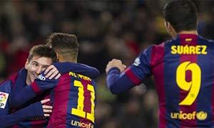 Barcelona 5-0 Elche