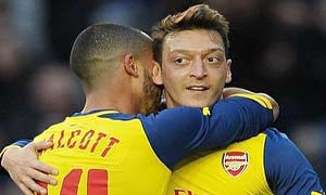 Brighton & Hove Albion 2-3 Arsenal