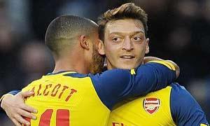 Brighton & Hove Albion 2-3 Arsenal