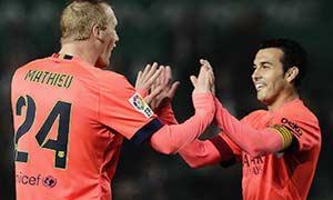 Elche 0-4 Barcelona
