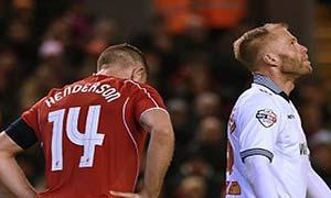 Liverpool 0-0 Bolton Wanderers