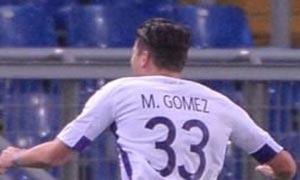 AS Roma 0-2 Fiorentina