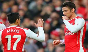 Arsenal 2-0 Middlesbrough