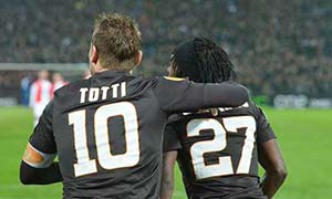 Feyenoord 1-2 AS Roma