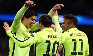 Manchester City 1-2 Barcelona