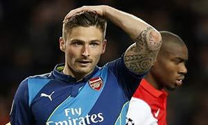 AS Monaco 0-2 Arsenal
