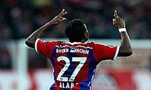 Bayern Munich 2-0 Eintracht Braunschweig