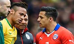 Brazil 1-0 Chile