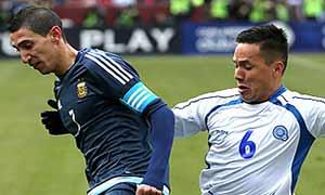 El Salvador 0-2 Argentina