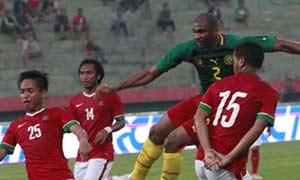 Indonesia 0-1 Cameroon