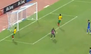 Thailand 2-3 Cameroon