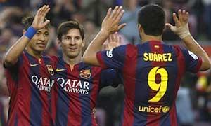 Barcelona 6-0 Getafe