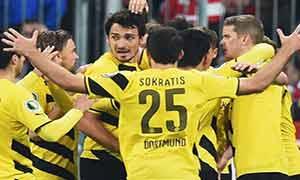 Bayern Munich 1-1 (Pen 0-2) Borussia Dortmund