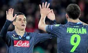 Napoli 2-2 Wolfsburg