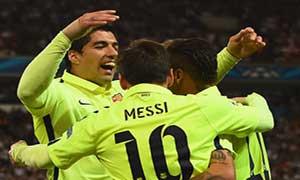 Paris Saint-Germain 1-3 Barcelona