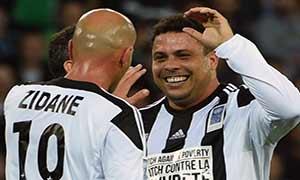 Ronaldo-Zidane XI 7-9 Saint-Etienne All Stars