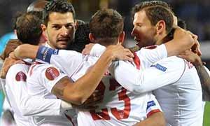 Zenit 2-2 Sevilla