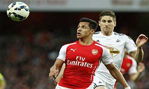 Arsenal 0-1 Swansea City