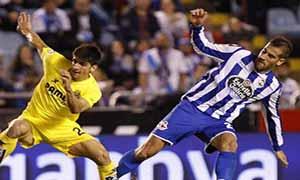 Deportivo La Coruna 1-1 Villarreal