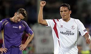 Fiorentina 0-2 Sevilla