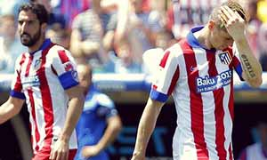 Levante 2-2 Atletico Madrid